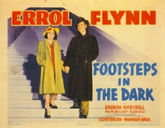 Footsteps in the Dark 1941 DVD - Errol Flynn / Brenda Marshall